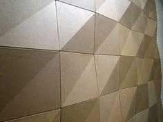 Módulo H – Shigeru Ban + Hermès | arktalk Handmade tiles can be colour coordinated and customized re. shape, texture, pattern, etc. by ceramic design studios