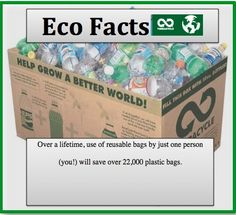 @TerraCycle  Rocks Eco Facts on Pinterest!  #ecofriendly #earthday #ecofacts #sustainability #bagbans