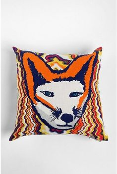 {foxy pillow} want.