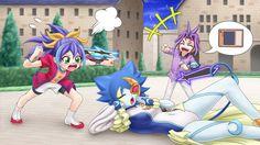 A lost memory from Amaya's childhood:Amaya watching a duel between Celina & Yuri Yuri, Yugioh Collection, Anime Love Couple, Anime Dolls, Animal Ears, Fanart, Cute Art, Anime Characters, Chibi