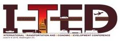 June 6-8, 2018: 6th International Transportation and Economic Development (I-TED) Conference