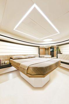 Internal view Pershing Yacht - Pershing 92' #yacht #luxury #ferretti #pershing