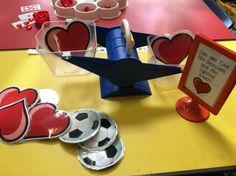 Valentine's Day weighing activity