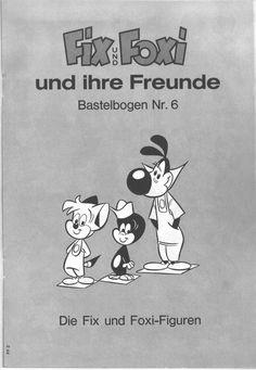 PaperToy_Fix und Foxi 1971 BB 06A
