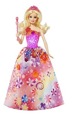 Barbie - CCF83 - Poupée - Barbie Princesse Magique Alexa