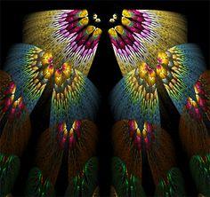 Fractal Butterflies - stunning.