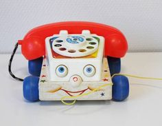 Fisher Price chatter telephone fisher price vintage phone