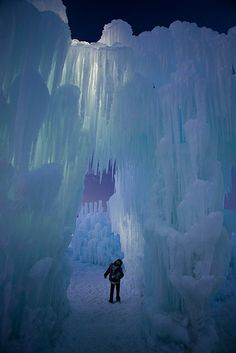 icre castle | Ice Castle Silverthorne Photo Courtesy Kendra Garvin