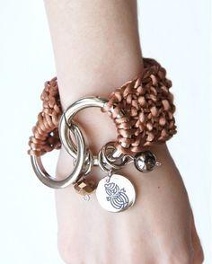 Carmel Knitted Bracelet by RR