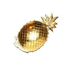 Brass Pineapple Tray Pineapple Dish Brass by JudysJunktion on Etsy