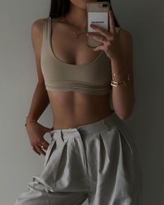 Look Fashion, Teen Fashion, Fashion Outfits, Womens Fashion, Daily Fashion, Cute Casual Outfits, Summer Outfits, Looks Pinterest, Fitness Inspiration Body