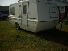 "1973 15' Amerigo Travel Trailer | Bristol, WI | Fiberglass RV's For Sale-our ""Before"""