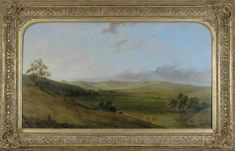 Thomas Clark, English/Australian (1814-1883) • Early Coleraine c.1862 • Oil on canvas • Acquired by the Shire of Wannon 1951 from the Estate of Miss Charlotte Payne • 1995.015 #Coleraine #AustralianPainting Australian Painting, Asian Art, Metal Working, Oil On Canvas, Contemporary Art, Charlotte, English, Gallery, Prints