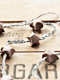 ghirlanda di paffute stelline (Mokkasin) - little stars wreath