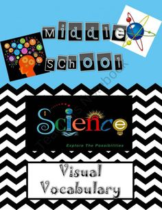 Visual Science Vocabulary from Digital Diva on TeachersNotebook.com (103 pages)  - Visual Science Vocabulary