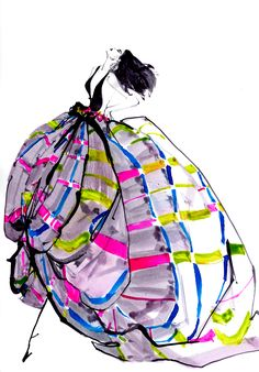 Marc Antoine Coulon fashion illustration