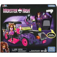 Mega Bloks Monster High Monster Moviemobile - Walmart.com...Nessa's new diy...her and daddy are putting it together now