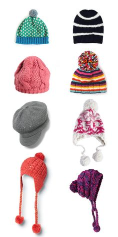 A beanie for every occasion :-) the fashion side of winter ... All the accessories