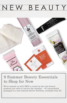 TanTowel Makes The List with 9 Summer Essentials #newbeauty #hsn #tan #summer #beauty