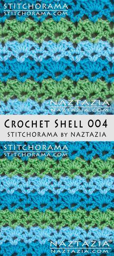Crochet Shell 004 - Stitchorama by Naztazia