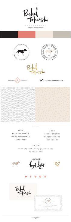 Brand Reveal // Rachel Tokarski Photography // #gritandwit #branding #photographer #design #creative #smallbusiness