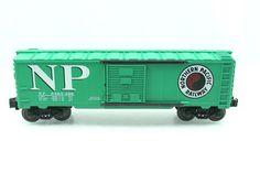 O Lionel NP 6464 Northern Pacific Green Box Car   eBay