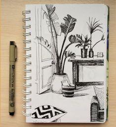 Sketching by Galina Elevterova