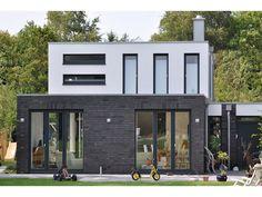Klinkerriemchen / Keramik Klinker Riemchen K639R-NF / Klinker / Fassade / anthrazit braun