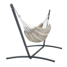 Perfect for 1 or cozy for the Classic Accessories Brazilian Hammock with Steel Stand provides an ideal place for relaxation. Rest assured knowing that your hammock will retain its look season after season. Made from solution-dyed yarn, our uniquel Rope Hammock, Outdoor Hammock, Hammock Swing, Hammock Chair, Swinging Chair, Hammocks, Hammock Ideas, Double Hammock With Stand, Brazilian Hammock