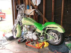 From my Flickr pages. Rusells Bike(BackHouse Customs) https://www.flickr.com/photos/7552532@N07/