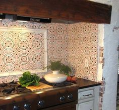 Tabarka Paris Metro 14 - mediterranean - Spaces - Seattle - Statements Tile