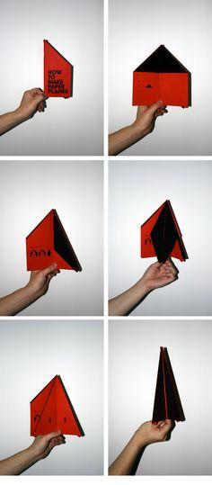 Jean Jullien's online portfolio: paper planes