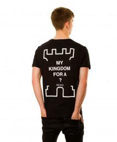 My Kingdom T-shirt in Black Mens Tops, T Shirt, Collection, Black, Fashion, Supreme T Shirt, Moda, Tee Shirt, Black People