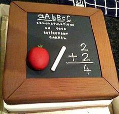 Teachers cake  Cake by sarahf