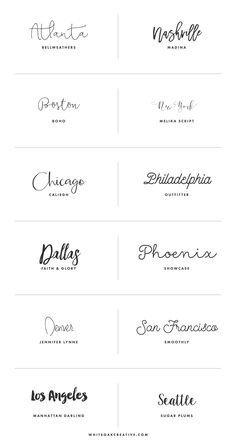 Favorite Creative Market Fonts for Creative Entrepreneurs