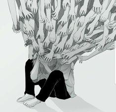 Driving myself insane🙄⚠️ sadasthetic astectics spacers spacer nsfwvideo help insane hurt breaking sad sadgirl drivingmyselfinsane Dark Art Illustrations, Illustration Art, Aesthetic Art, Aesthetic Anime, Vent Art, Arte Obscura, Dark Art Drawings, Sad Art, Dark Fantasy Art