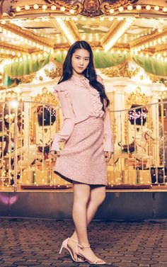 Jiho oh my girl Jiho Oh My Girl, Oh My Girl Yooa, Arin Oh My Girl, My Baby Girl, Kpop Girl Groups, Korean Girl Groups, Kpop Girls, Girls Generation, Dress Outfits