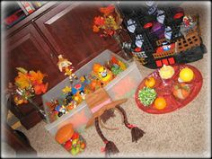 Thanksgiving or November/Fall  Sensory Box
