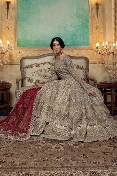 Maria B Bridal Collection 2020 Pakistani Wedding Outfits, Pakistani Bridal Dresses, Pakistani Wedding Dresses, Bridal Outfits, Bridal Gowns, Walima Dress, Lehenga Wedding, Indian Outfits, Designer Bridal Lehenga