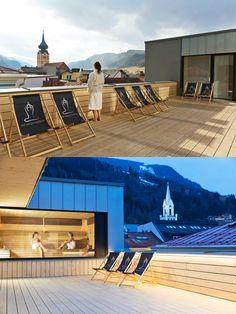 Stadthotel Brunner in the Schladming-Planai-Dachstein/Ski amadé ski region. The barrier-free design hotel with Yoga and Ayurveda offer in Schladming Wellness Spa, Simple Elegance, Ayurveda, Alps, Austria, Terrace, Skiing, Relax, Urban