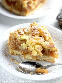 Apple Cake Recipes, Cookie Recipes, Dessert Recipes, Sweet Desserts, Delicious Desserts, Polish Desserts, Sweets Cake, Food To Make, Sweet Tooth