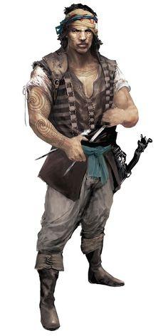 Assassin's Creed II Art & Pictures  Mercenary