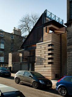 Murphy House, Hart St, Edinburgh by Richard Murphy