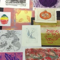 All types of printmaking