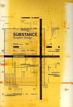 SUBSTANCE, self-promotional poster, 2002