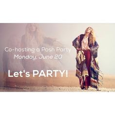 Co-hosting 1st Posh Party! Date: Monday, June 20, 2016 Time: 7 PM PST / 10 PM EST Theme: TBD Co-hosts: TBA  I am SO excited to host my first posh party and need your help to spread the word! I will be looking for Host Picks from Posh compliant closets only. Please like, share and comment on this post to be considered. Please share new closets that have never had a host pick before to share the love! ❤️  Nominate a posh mentor that has helped you Other