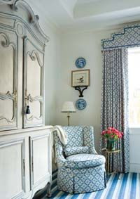 Creating a Beautiful Bedroom | Atlanta Homes & Lifestyles. Designer, Judy Bentley