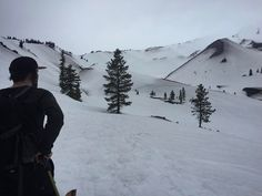 US Outdoor employees @_salmons and @ndrewkimiecik worked for their weekend earning turns on our home mountain. . . . : @_salmons #mthood #backcountryskiing #splitboarding #snowboarding #earnyourturns #getoutside #freshair #pnwonderland #upperleft #traveloregon #exploregon #oregonexplored #oregon #portland #pnw #pnwisbeautiful #usoutdoor #snowwaterland