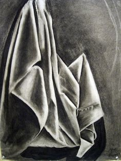 Charcoal Pencil Drawing - reminds me of long ago H.S. art classes... loved my art classes