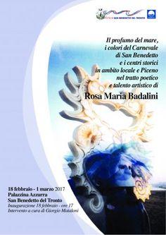 I colori del carnevale e il profumo del mare nel tratto poetico di Rosa Maria Badalini